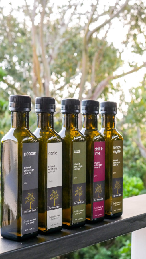 Fat Hen Farm EVOO Infused Range
